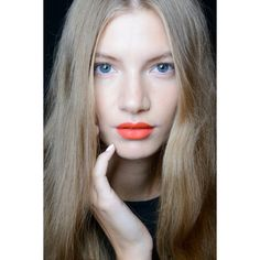 Why Orange Lipstick Is For Everyone (Yes, Even You) ❤ liked on Polyvore featuring pics