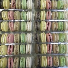 """Deli French Macaroons are freshly made by hand. If you're craving a little taste of France, we've got just the thing for you """"macaroons"""" Gift Boxes Available, six flavors on: www.delibaking.com"""