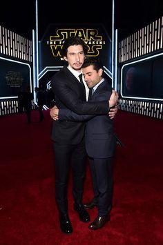 Adam Driver y Oscar Isaac