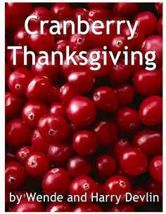 Cranberry Thanksgiving FREE Lapbook Printables