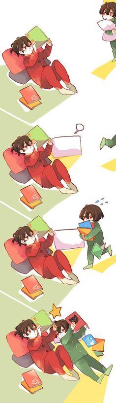 Rei and ritsu
