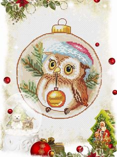Cross Stitch Owl, Dragon Cross Stitch, Cat Cross Stitches, Easy Cross Stitch Patterns, Fantasy Cross Stitch, Simple Cross Stitch, Cross Stitch Flowers, Cross Stitching, Wedding Cross Stitch