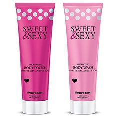 Sweet  Sexy Body Wash and Polish set by Supre  Hydrating  Exfoliating  Shower Bundle  Skin Firming  Amazing Scent  2 Piece Set 9 oz each  100 Satisfaction Guarantee  Makes a Great Gift Beautiful Smooth Skin Great for Sunless Tanning Prep *** Be sure to check out this awesome product.