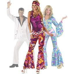 80's Disco Outfit on adulthalloweenideas.com