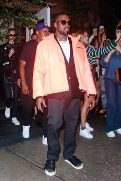 The past few decades have seen Prada emerge as one of the most cherished and most flaunted brands in the rap game - we chart its rise here. Kanye West Outfits, Kanye West Style, Casual Outfits, Men Casual, Gucci Mane, Hip Hop Fashion, Collar Shirts, Aesthetic Clothes, Gq