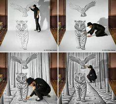 Awesome 3D Drawing | Ben Heine | Belgium