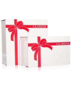 Choose a Free Small or Large Gift Box with $65 Clarins purchase