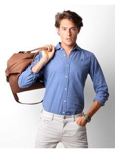 Flannel K Shirt Blue