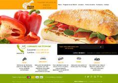 Création de site Internet e-commerce pour un restaurant de vente en ligne de Pizza à Lausanne Suisse.