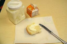 make during farm unit- can also bake bread after reading the little red hen and use the homemade butter on it