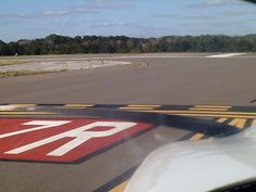 Holding Short Of Runway 9L at B2 KSFB Orlando Sanford International Airport