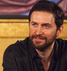 Richard at the first Press Conference for The Hobbit: An Unexpected Journey.