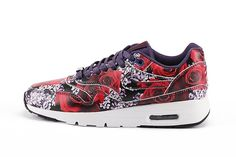 new product 16d9f 4fd86 Nike Air Max 1 Ultra Roses   Cherry Blossoms Femmes 747105-500 London Ville  Pack Formateurs