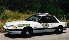 Missouri Highway Patrol, 1988 Ford Mustang