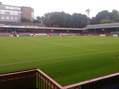 The EBB Stadium at the Recreation Ground - Aldershot Town