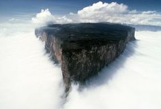 Il monte Roraima in Venezuela