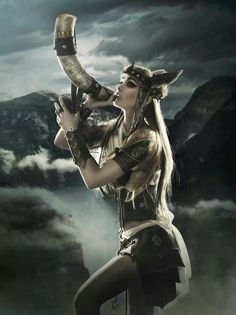 Norse Mythology art... Valkyrie