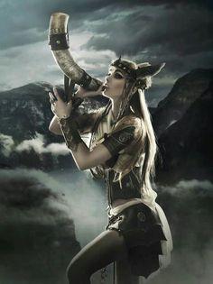 Norse Mythology art... Valkyrie