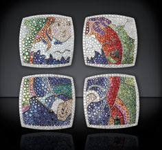 ART COLLECTION HOMAGE TO GAUGUIN RINGS