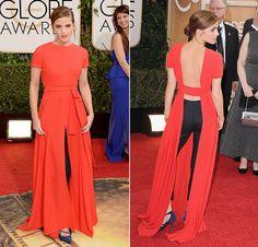 Emma at Golden Globes 2014