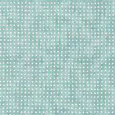 Papier Japonais / Sérigraphie pointillés fond bleu gris - Adeline Klam