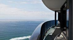 huge wraparound balcony