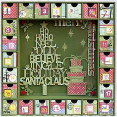 Kaisercraft Advent Calendar by Susy FitzGerald  (112909)