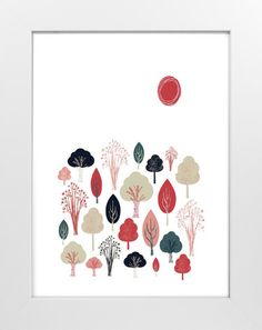 Friendly Forest by Olivia Raufman at minted.com