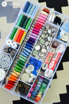 Sewing Supply Organization #michaelsmakers