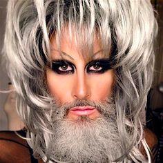 Drag queen pode usar barba? Sim pode tudo e mais um pouco