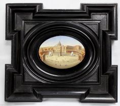 Extremely Fine 19 century Italian micro mosaic plaque perfect condition (5897) #Italian