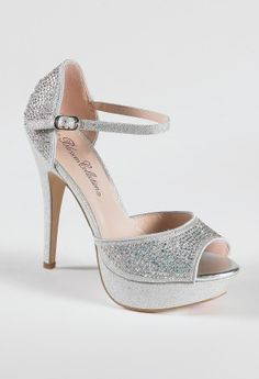 be0ed3c00e9 High Heel Glitter Platform with Heel Stones from Camille La Vie and Group  USA prom shoes