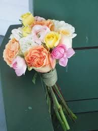 pink and yellow wedding bouquets - Google Search