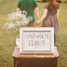 Save The Date – Alternative Use of an Engagement Shoot