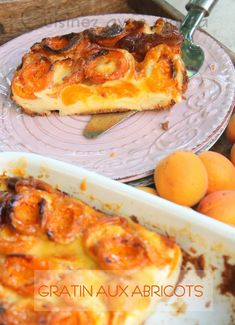 Gratin express aux abricots - The Best Mexican Recipes Tart Recipes, Mexican Food Recipes, Appetizer Recipes, Dessert Recipes, Hawaiian Recipes, Breakfast For A Crowd, Breakfast Recipes, Flan Dessert, Easy Desserts