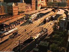Rod Stewart's Three Rivers City model railroad (yes, that Rod Stewart, who knew?)