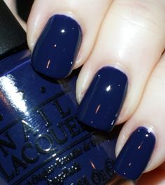 I want this color.. OPI Road House Blues