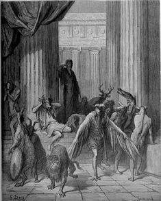Gustave Doré, Les compagnons d'Ulysse,1867