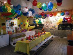 JUMP2IT Kelowna:  CONSTRUCTION themed birthday party