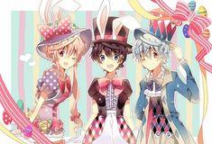 Anime, Pink Ribbon, Mirai Nikki, Gasai Yuno, Amano Yukiteru, Black Hat, Puffy Sleeves
