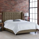 Found it at Wayfair - Groupie Wingback Bed and it will be at my house tomorrow!!