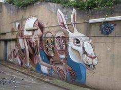 Nychos.. . #streetart