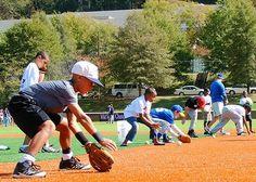 Legends Baseball Clinic -- Fielding 101