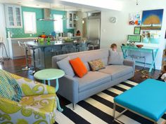 House of Turquoise: Reader Renovation!  Click thru for more fabulous photos from House of Turquoise
