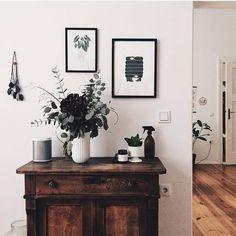 "28 Likes, 1 Comments - Micush (@micushillustration) on Instagram: ""'Alocasia sanderiana' print in the beautiful living room of @monochromediy . . . . . . . . .…"""
