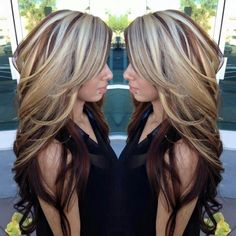Meine Haare will ich Hair Color And Cut, Cool Hair Color, Hair Colors, Love Hair, Great Hair, Hair Highlights, Hair Today, Balayage Hair, Hair Dos