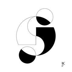 Semicolon Yin And Yang Tattoo by E J Klepinger
