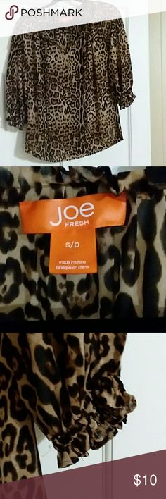 I just added this listing on Poshmark: Joe fresh flowy top. #shopmycloset #poshmark #fashion #shopping #style #forsale #Joe Fresh #Tops