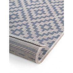 In- & Outdoor Rug Metro Blue Blue Outdoor Rug, Outdoor Rugs, Outdoor Living, Blue Art, Soft Furnishings, Living Spaces, Flooring, Garden Hose, Outdoor Carpet