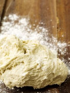 """PIZZA DOUGH """"Once you've tried this easy pizza dough recipe, you'll never look back (trust me) """""""